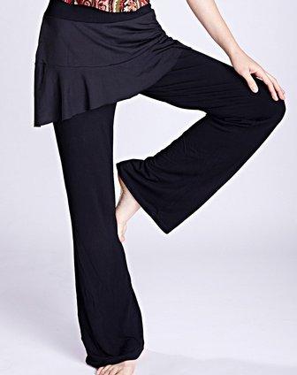 黑色瑜伽服裤子