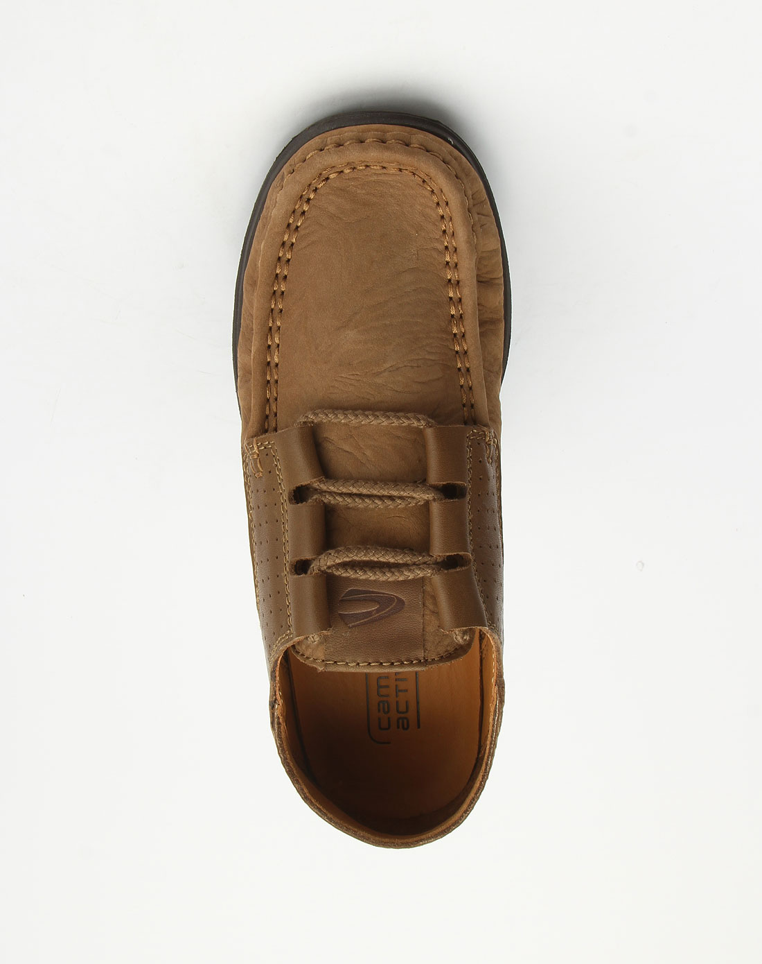 active男款浅棕色绑带休闲鞋10110110
