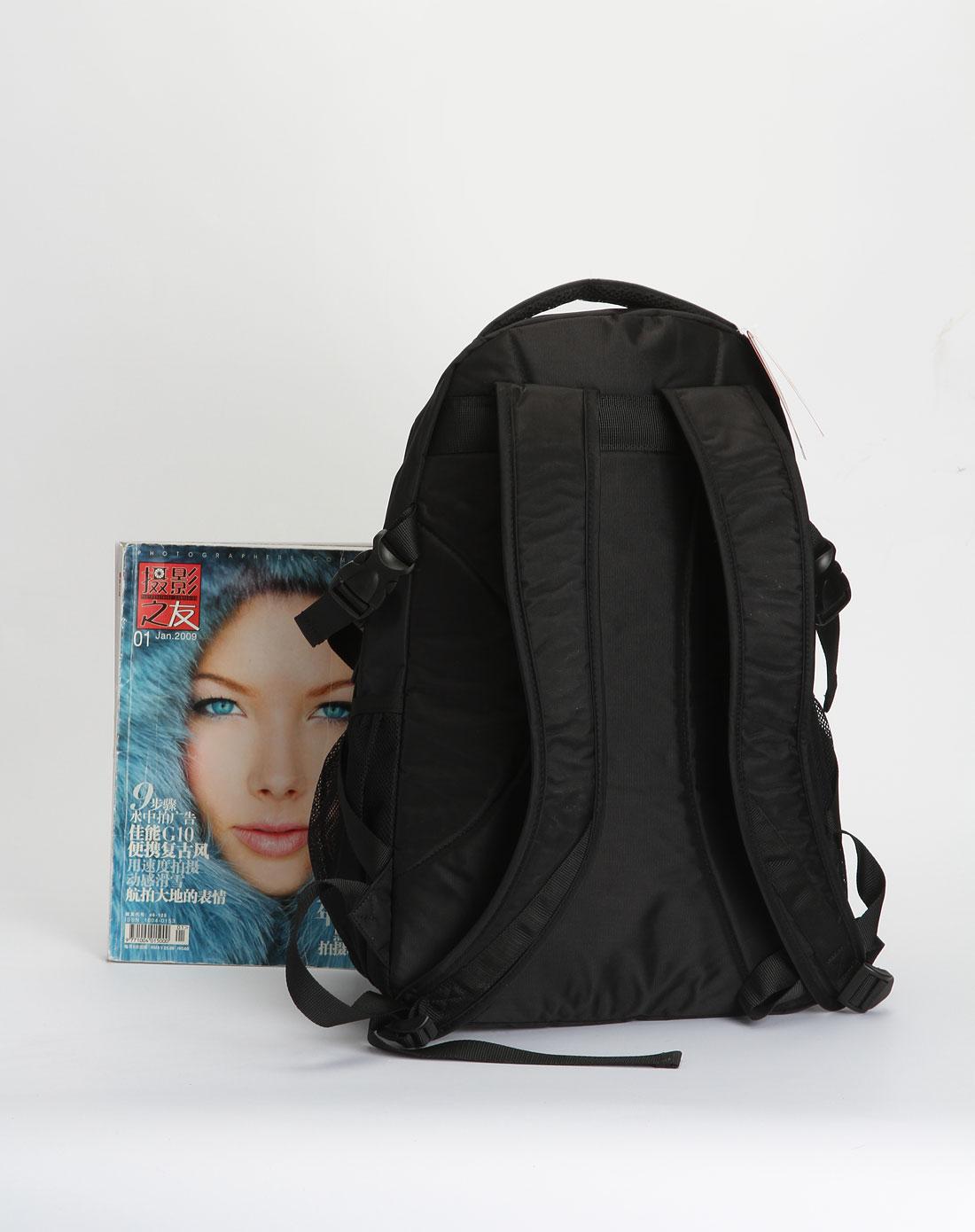 cba女款黑色时尚活力双肩背包9201308-002