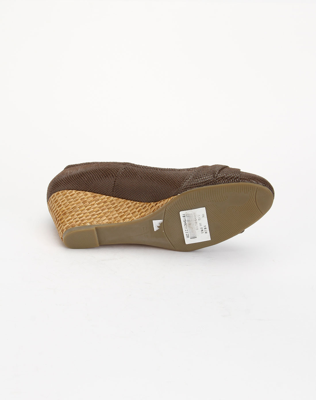 闲蜥蜴纹中跟单鞋fb11sh