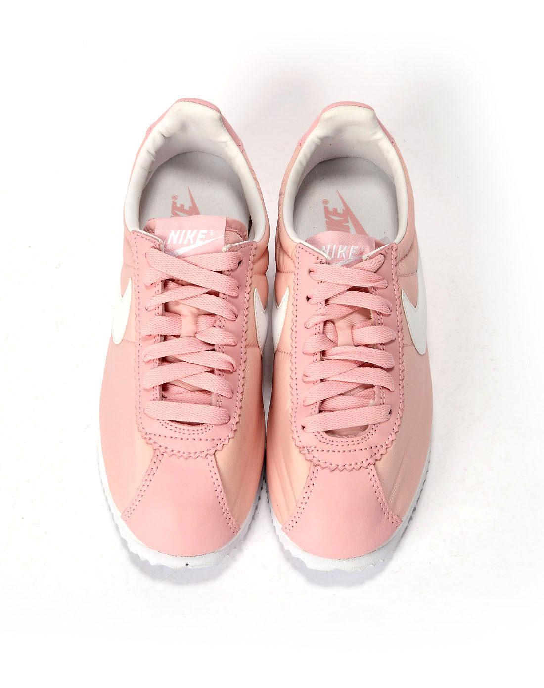 耐克nike女子粉红色复古鞋385395-603