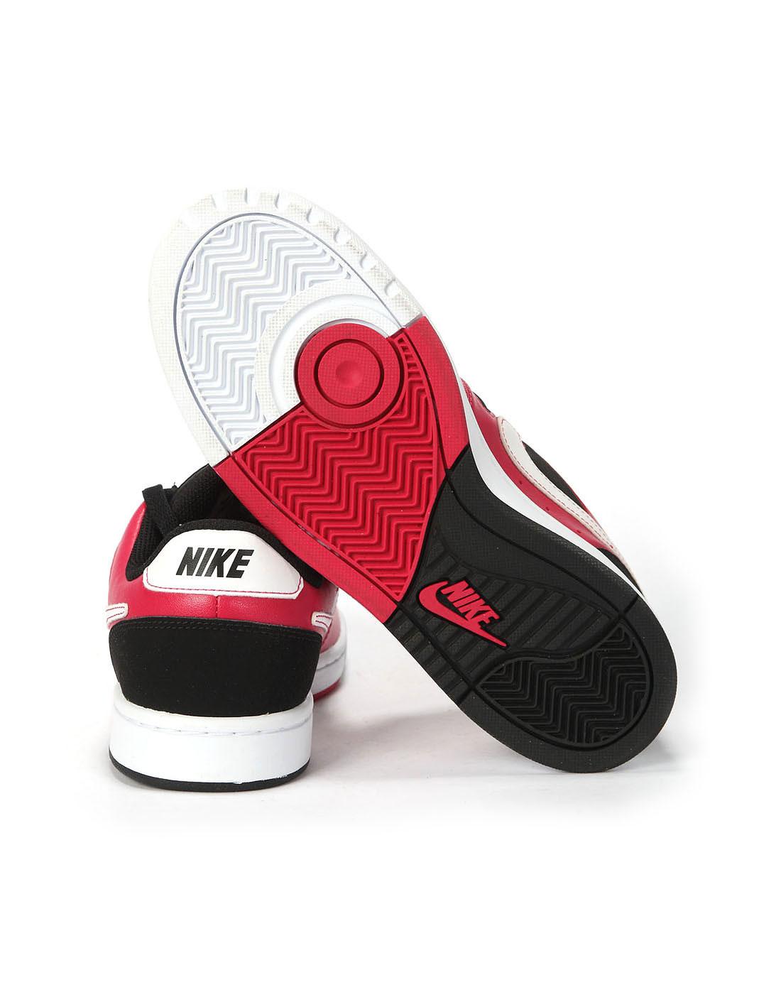 耐克nike女子红色复古鞋454540-600