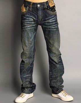 tough男款靛蓝牛仔裤40912