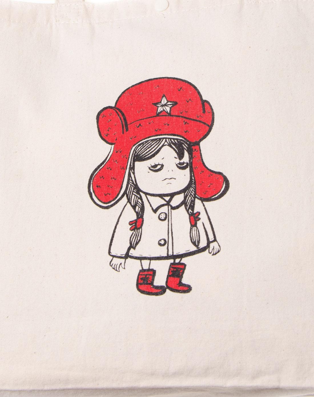 优纳佳品una手工袋-艺术家设计款雷锋帽