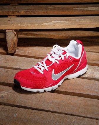 耐克nike女款玫红色活力绑带跑步鞋443836-600