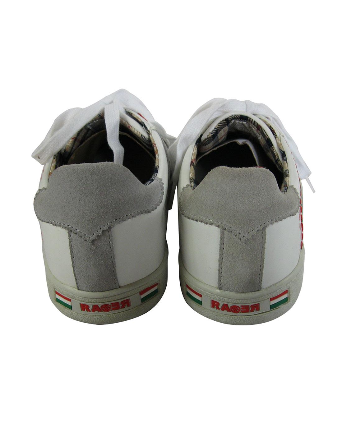 男士休闲鞋白色rarexzm001