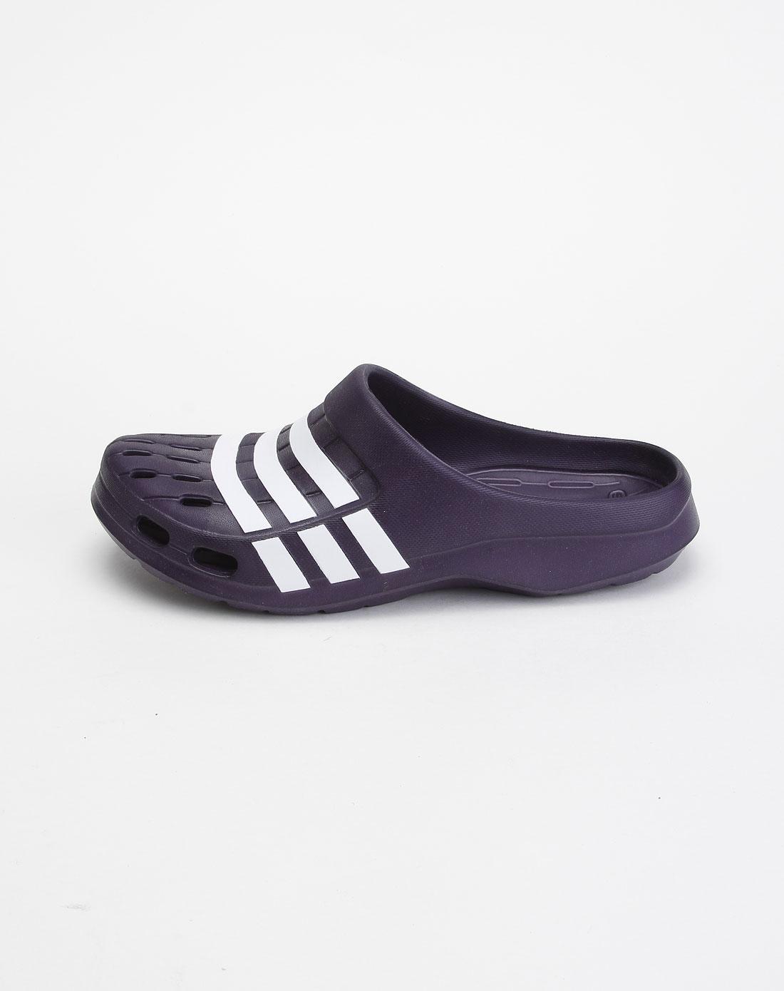 男款紫白色凉鞋g62582
