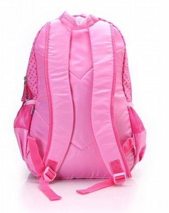迪士尼disney文具专场女童粉红休闲背包gd0157012