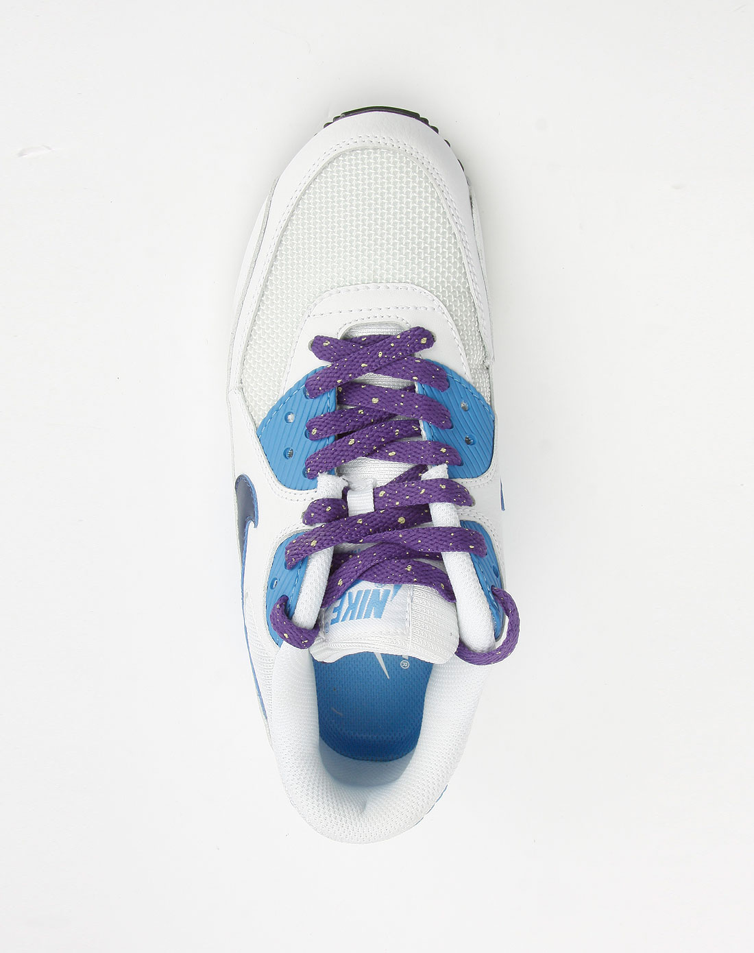 蓝/白色运动鞋_耐克nike-女鞋