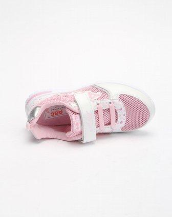 abckids男女童鞋女款中童白/粉红运动鞋y22137207