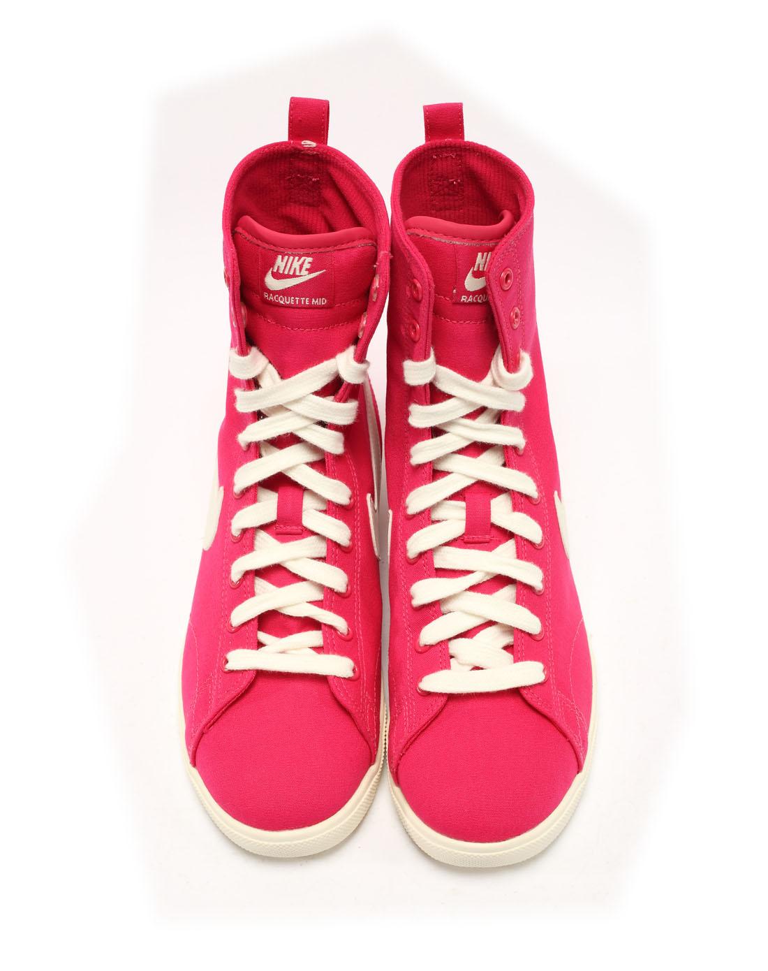 耐克nike女子红色复古鞋454413-600