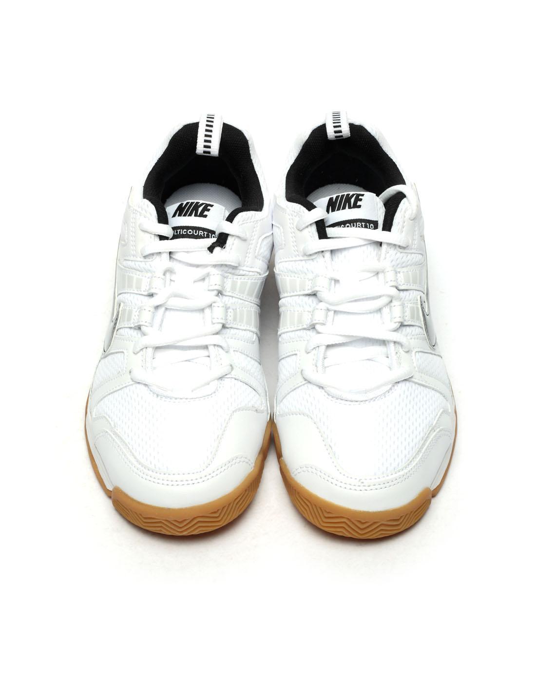 耐克nike男子白色网球鞋454357-106