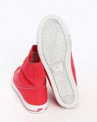耐克nike女子红色复古鞋434498-600