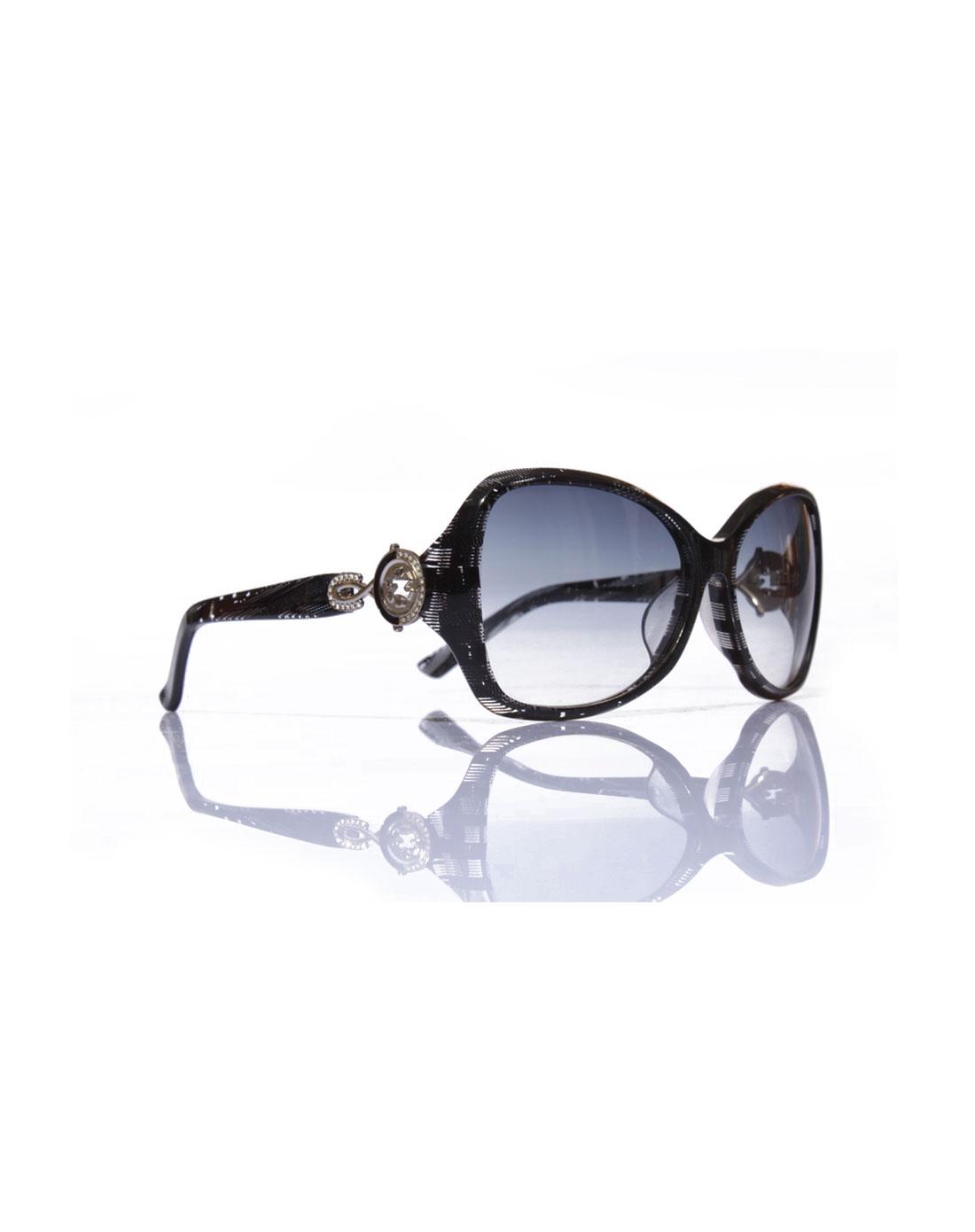[ 帕莎 ] 女款黑白条纹太阳镜
