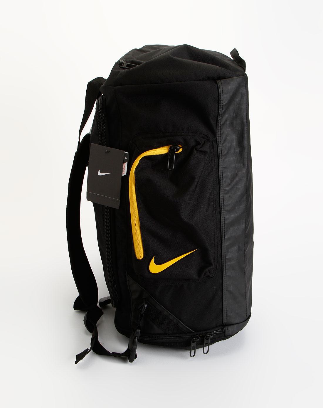 耐克nike中性黑色多功能时尚休闲背包ba3202-007