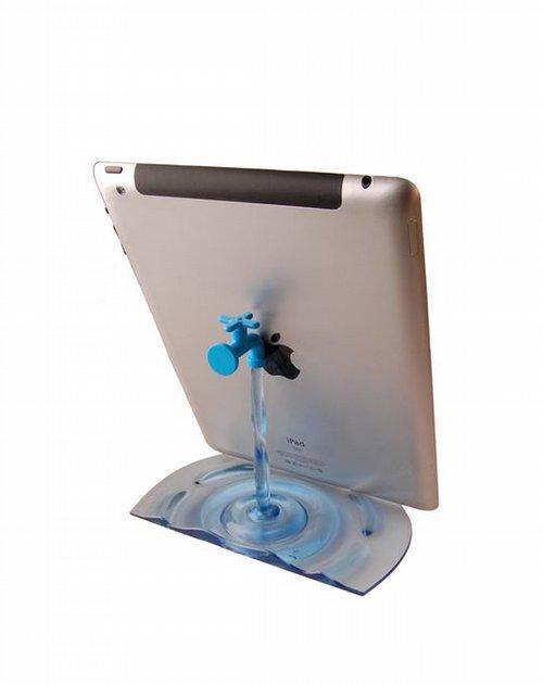 创意水龙头造型平板电脑支架