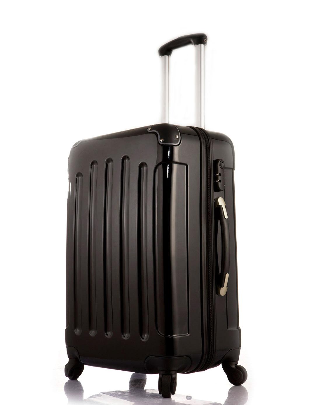 a中性款黑色行李箱