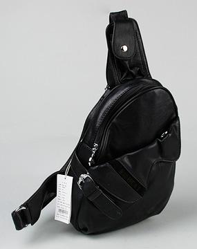 cat女款黑色仿皮pu背提包