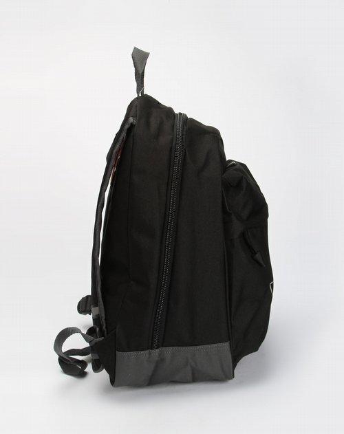 彪马puma-男装专场中性款黑/砖灰色简约双肩背包图片