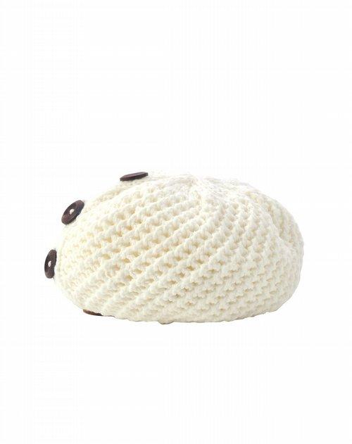 cling cling白色冰雪传奇帽子